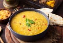 Crvena leća na indijski način - zdrav ručak bez mesa